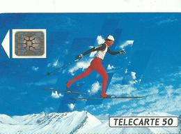 Telecarte Jeux Olympiques Course De Fond - Olympic Games