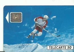 Telecarte Jeux Olympiques Hokey Sur Glace - Olympische Spelen