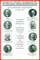 WETGEVENDE VERKIEZINGEN 22 MEI 1910 - Arrondissement Veurne - Oostende - Dixmude(diksmuide) (Buyl-Van Sieleghem-...) - Partis Politiques & élections