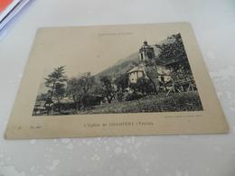 Cp  L église De Champéry  ( Valais )  No 443   Format   18 Cm  Sur  13 Cm - Autres