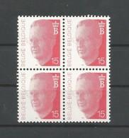 OCB 2450 ** Postfris Zonder Scharnier  On Blok Van 4 - 1990-1993 Olyff