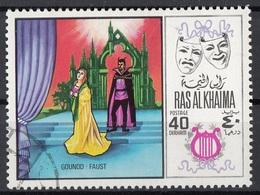 Ras Al Khaima 1969 Mi. 282 Musica Lirica Opera. Charles Gounod - Faust Nuovo CTO - Musica