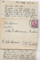 AK 0259  Brief Mit Inhalt An Frl. Mitzi Drathschmidt Von Bruckheim - Militär Akademie Wr. Neustadt 1898 - Briefe U. Dokumente