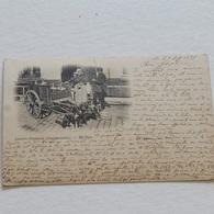 LAITIERE FLAMANDE (contravention) - ANN2E 1897 - Envoyée - Marchands Ambulants