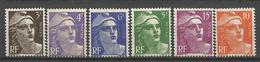 LOT MARIANNE DE GANDON NEUF** SANS CHARNIERE MNH / COTE 6.50€ - 1945-54 Marianne Of Gandon