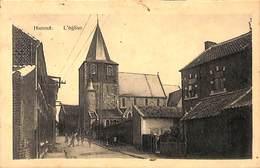 Hannut - L'église (animée, Edit. Henri Kaquet 1924) - Hannut