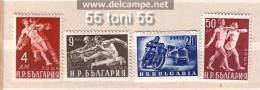 Bulgaria  / Bulgarien 1949    Sport  4v.- MNH  / Postfrich (**) - 1945-59 Volksrepublik