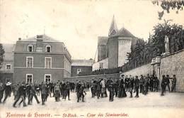 Environs De Hamoir - St Roch - Cour Des Séminaristes (belle Animation, 1907, Edit. Brisbois-Lhoest) - Hamoir