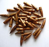 LOT DE 40 OGIVES US CAL .30 - Armes Neutralisées