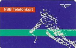 Norway - Norwegian Railroad (Magnetic) - NSB-9 - Alpinist, 1993, 20Kr, 50.427ex, Used - Norway