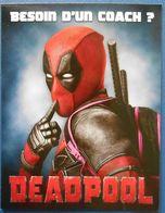 313 Carte Postale Besoin D'un Coach ? Deadpool Marvel - Cartes Postales
