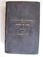 NOUVEAU TESTAMENT ET PSAUMES - Hôtel De York à Spa - Chambre N°9 - 1846 - 22 X 15 Cm. - C 11 - Religion