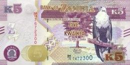Zambia 5 Kwacha, P-New/57b (2018) - UNC - Sambia