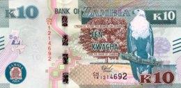 Zambia 10 Kwacha, P-New/58b (2018) - UNC - Sambia