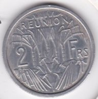 ILE DE LA REUNION. 2 FRANCS 1973 . ALUMINIUM - Réunion