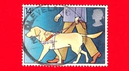 INGHILTERRA - GB - GRAN BRETAGNA - 1981 - Anno Internazionale Dei Disabili - Cieco Con Cane Guida - 14 - 1952-.... (Elisabetta II)