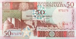 Somalia 50 Shillings, P-34d (1989) UNC - Somalië