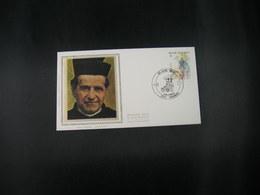 """BELG.1984 2129 FDC Soie/zijde( Hoboken ) : """" Don Bosco """" - FDC"""