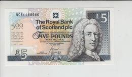 AB326. The Royal Bank Of Scotland Plc £5 Banknote 1st July 2005 #RCS1165966 FREE UK P+P - 5 Pounds