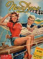 Nous Deux N°259 Romans-photos : La Chanson Du Coeur - Passion Tragique - Roman-dessinée : L'enfant Du Mystère De 1952 - Books, Magazines, Comics