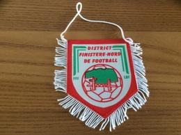 Fanion Football * «DISTRICT FINISTÈRE NORD DE FOOTBALL FFF LOF» - Apparel, Souvenirs & Other