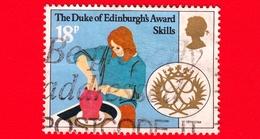 GB  - UK - GRAN BRETAGNA - Usato - 1981 - 25 Anni Del Premio Del Duca Di Edimburgo - Abilità - 18 - 1952-.... (Elisabetta II)