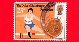 GB  - UK - GRAN BRETAGNA - Usato - 1981 - 25 Anni Del Premio Del Duca Di Edimburgo - Ricreazione - Sport - 25 - 1952-.... (Elisabetta II)