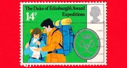 GB  - UK - GRAN BRETAGNA - Usato - 1981 - 25 Anni Del Premio Del Duca Di Edimburgo - Spedizioni - 14 - 1952-.... (Elisabetta II)