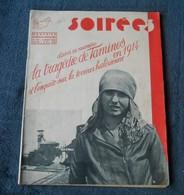 Magazine Soirées Du 3 Août 1934  (Editions REX)  La Tragédie De Tamines En 1914    -    Sambreville - 1900 - 1949