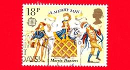 INGHILTERRA - GB - GRAN BRETAGNA - Usato - 1981 - Europa - Folclore - Danzatori Morris - 18 - 1952-.... (Elisabetta II)