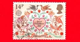 INGHILTERRA - GB - GRAN BRETAGNA - Usato - 1981 - Europa - Folclore - Festa Di S.Valentino - 14 - 1952-.... (Elisabetta II)