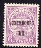 Luxembourg 1911  Prifix Nr. 77 - Luxemburgo