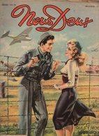 Nous Deux N°122Romans-photos : Guy L'enfant Du Fleuve - Roman-dessinée : Au Delà De L'oubli, Amour Sans Lendemain 1949 - Books, Magazines, Comics