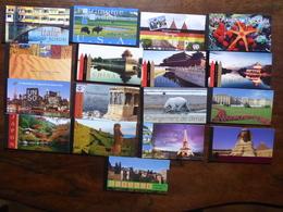 Nations Unies Gros Lot De 17  Carnets De Prestige  (textes En Français) Voir  Scan - Stamps