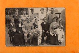 KRUTH  -  ( 68 )  -   MARIAGE  Le 12  Mars 1918  à Kruth  -  Epoux Soldat Au 4eme Régiment  -  BELLE CARTE PHOTO - France
