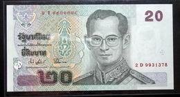 Thailand Banknote 20 Baht Series 15 P#109 SIGN#74 UNC - Thailand