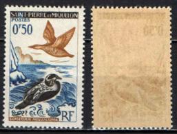 ST. PIERRE & MIQUELON - 1963 - Eider Ducks - MNH - St.Pierre & Miquelon