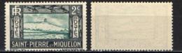 ST. PIERRE & MIQUELON - 1932 - LIGTHOUSE AND FISH - SENZA GOMMA - St.Pierre & Miquelon