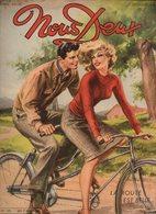 Nous Deux N°120Roman-dessinée : Au Delà De L'oubli, Amour Sans Lendemain - Roman, Récit, Nouvelles : Le Train Des Neige - Books, Magazines, Comics
