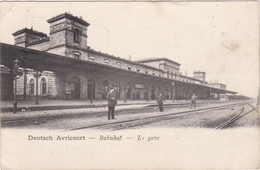 CPA Dept 57 DEUTSCH AVRICOURT La Gare - Otros Municipios