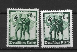 1937 MNH Reich, Postfris** - Unused Stamps