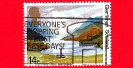 GB  - UK - GRAN BRETAGNA - Usato - 1981 - Paesaggi - Glenfinnan, Scotland - 50 Anni Della National Trust Per La Scozia - - 1952-.... (Elisabetta II)