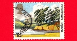 GB  - UK - GRAN BRETAGNA - Usato - 1981 - Paesaggi - Derwentwater, England - 50 Anni Della National Trust Per La Scozia - 1952-.... (Elisabetta II)