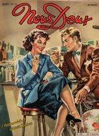 Nous Deux N°198 Romans-photos : Le Passé Inconnu, Amours Romantiques - Roman-BD Tendre Mission De 1951 - Books, Magazines, Comics