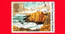 GB  - UK - GRAN BRETAGNA - Usato - 1981 - Paesaggi - Giant's Causeway, Northern Ireland - 50 Anni Della National Trust P - 1952-.... (Elisabetta II)