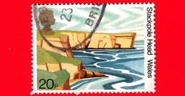 GB  - UK - GRAN BRETAGNA - Usato - 1981 - Paesaggi - Stackpole Head, Wales - 50 Anni Della National Trust Per La Scozia - 1952-.... (Elisabetta II)