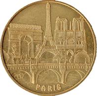 75 PARIS TOUR EIFFEL ARC DE TRIOMPHE NOTRE DAME MÉDAILLE MONNAIE DE PARIS 2006S JETON MEDALS TOKEN COINS - 2019