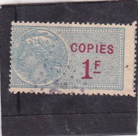 T.F. De Copies N°22 - Revenue Stamps