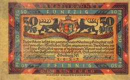 50 Pfg. Notgeld Oldenburg VF/F (III) - [11] Local Banknote Issues