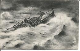 Le Havre  Canot De Sauvetage En Péril - Le Havre